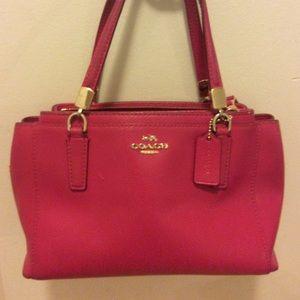 Coach Mini Christie Satchel handbag